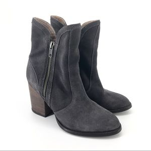Anthropologie Seychelles 7 Lori Penny Boots Grey